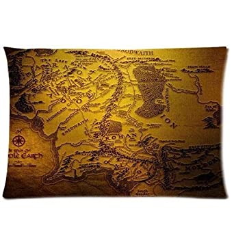 custom lord of the rings pillowcase standard. Black Bedroom Furniture Sets. Home Design Ideas
