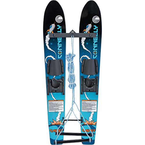- Connelly Cadet Combo Skis w/Child Slide-Type ADJ Bindings Sz 45in