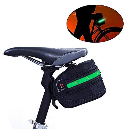 Zyan Road Mountain Bike Saddle Bag Seat Post Bag Fixed Gear Fixie by Zyan