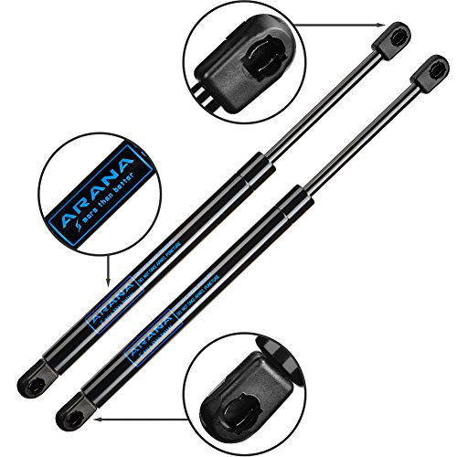 Qty(2) 6601 Gas Charged Rear Glass Window Lift Support for Jeep Grand Cherokee 2005-2010