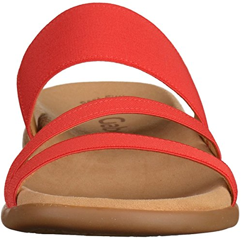 Mujer 80 Gabor63 702 Flame Pantuflas 1t8Z0qw