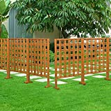 Wooden Screen Fence
