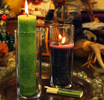 Anchor Hocking Zombie Candle Holder