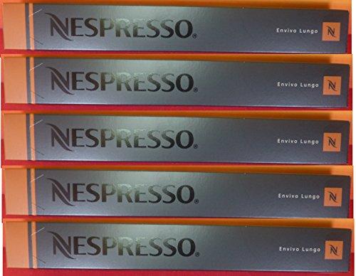 Nespresso OriginalLine Espresso Capsules, Envivo Lungo, 50 count pods