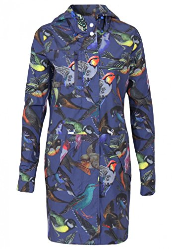 coat coat Khujo woman Barth Navy blue SfnBzqw