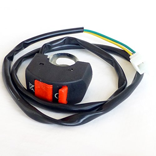 Kill Switch for Mini Bikes - Handle bar mounted kill switch with 2 wire connector