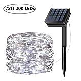 Best Solar String Lights - Solar String Lights, 200 LED Solar Fairy Lights Review