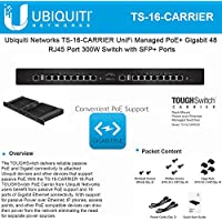 Ubiquiti TOUGHSwitch TS-16-CARRIER Advanced PoE Controller
