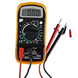 PEAKMETER MAS830L AC DC Voltage Current Resistance Tester DMM Digital Multimeter Meter