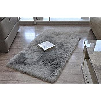 Cuteshower Serene Super Soft Faux Fur Rug Kids Carpet With Fluffy Thick  Used As An Area