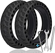 TOPOWN 2 pcs Solid Tire for Xiaomi m365 Electric Scooter with 3 Installation Tools, 8.5 inches Electric Scoote