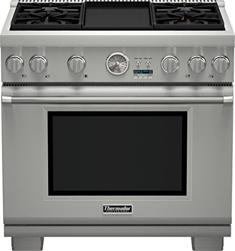 (36 inch Professional Series Pro Grand Commercial Depth All Gas Range PRG364JDG)