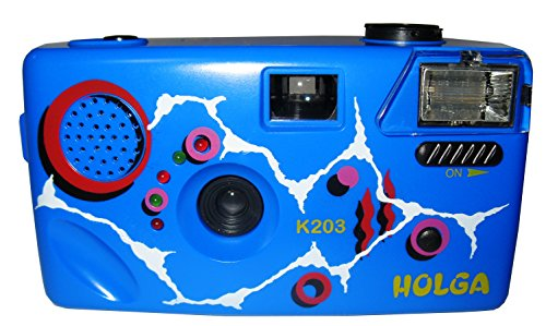 Holga K203 Royal Blue Original Noise Making 35mm Film Camera