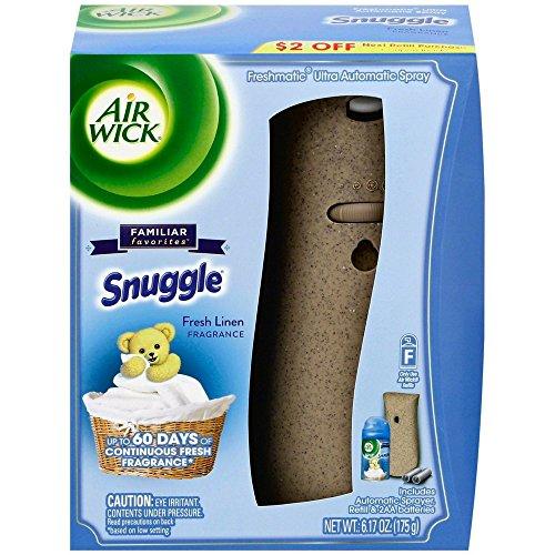 Reckitt Benckiser Plc Air - Air Wick Freshmatic Ultra - Starter Kit Snuggle Fresh Linen