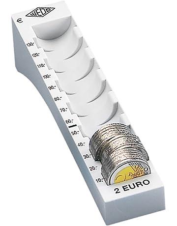 Wedo 160720037 - Bandejas individual portamonedas, 180 x 45 x 37,6 mm,