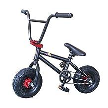 Kobe 40-22003 Mini BMX Bike-Black/Red