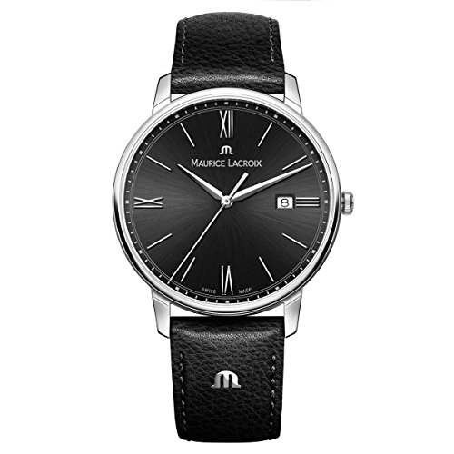 maurice-lacroix-mens-eliros-quartz-stainless-steel-and-leather-casual-watch-colorblack-model-el1118-