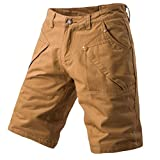 2018 New Hot! Fashion Mens Casual Pocket Beach Work Casual Short Trouser,PASATO Classic Shorts Pants(Khaki, 38)