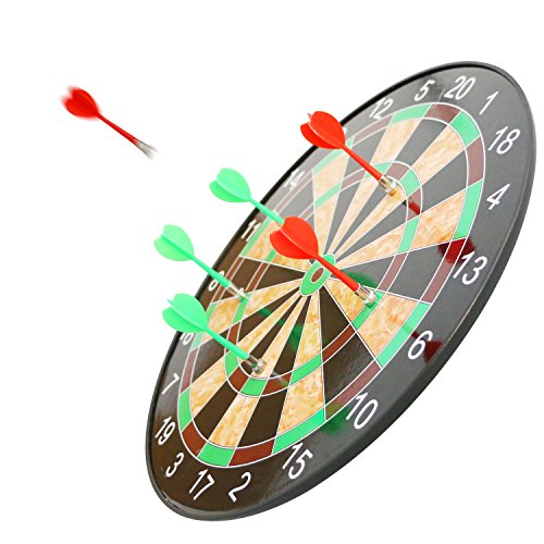 Magnetic Dart Board with 6 Flexible Magnetic Darts --Scotamalone