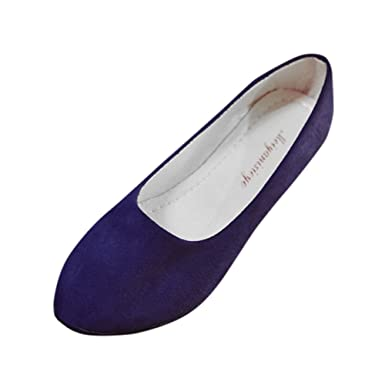 brand new ed4f1 d9db4 Damen Loafers Ballerinas Pumps,Frauen Slip On Flache Schuhe ...