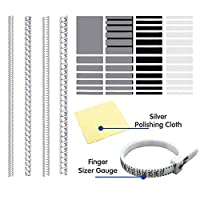 Pantipinky Ring Spacer for Loose Rings Size Adjuster Invisible Ring Guards Sizer Reducer - 61pcs in 2 Type