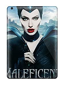 New Maleficent 2014 Movie Tpu Skin Case Compatible With Ipad Air