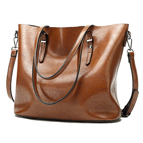 0ca0566741c9 Buy Abshoo Women Soft Leather Handbags Tote Bags (Brown) Online at Low  Prices in India - Amazon.in