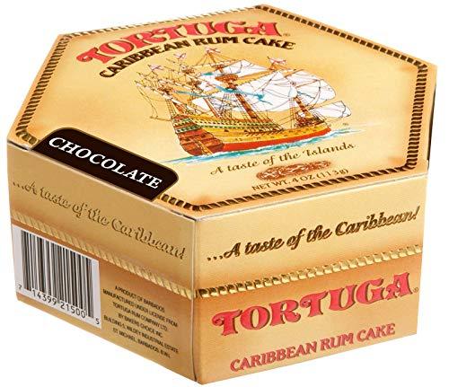 Tortuga Caribbean Rum Cake, 4 ounce Chocolate Flavored