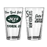 New York Jets Official NFL 16 fl. oz. Spirit Pint Glass …