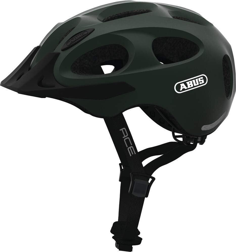 Casco da bicicletta Verde menta Unisex-Adulti Abus YOUN-I ACE Grande