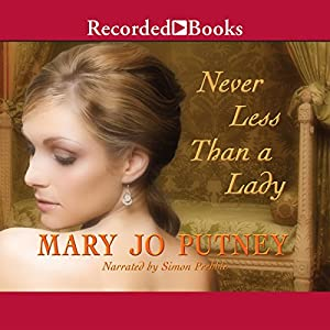 Never Less Than a Lady Audiobook
