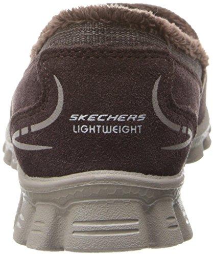 nbsp;chilly Ez Choc Zapatillas Flex marrón Mujer Skechers 2 Marrón tvPq6PR4