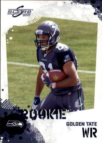 2010 Score Football Rookie Card #345 Golden Tate Near Mint/Mint