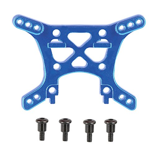 Cheerwing A2504 Alloy Shock Tower Upgrade RC Car Parts for REMO 1/16 Scale RC Truck Truggy Buggy, Blue (Tower Hobbies)