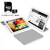 Indigi Dual Core Android Tablet & Phone + Smart Cover included + 32GB microSD - 7'' - White