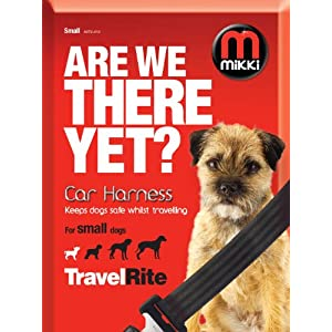 Mikki Travel & Household Car Harness Keeps Dogs Safe Whilst Travelling 6