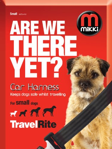 Mikki Travel & Household Car Harness Keeps Dogs Safe Whilst Travelling 1