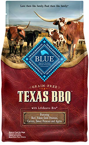 Blue Buffalo Blue Texas BBQ Natural Adult Dry Dog Food with USA Beef