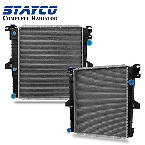 CU2308 Radiator Replacement for Ford Explorer Mercury Mountaineer 2000 2001 V8 5.0L