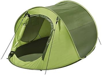 Tienda de campaña para montaje rápido tienda campaña camping tienda para hasta 2 personas, verde: Amazon.es: Deportes y aire libre