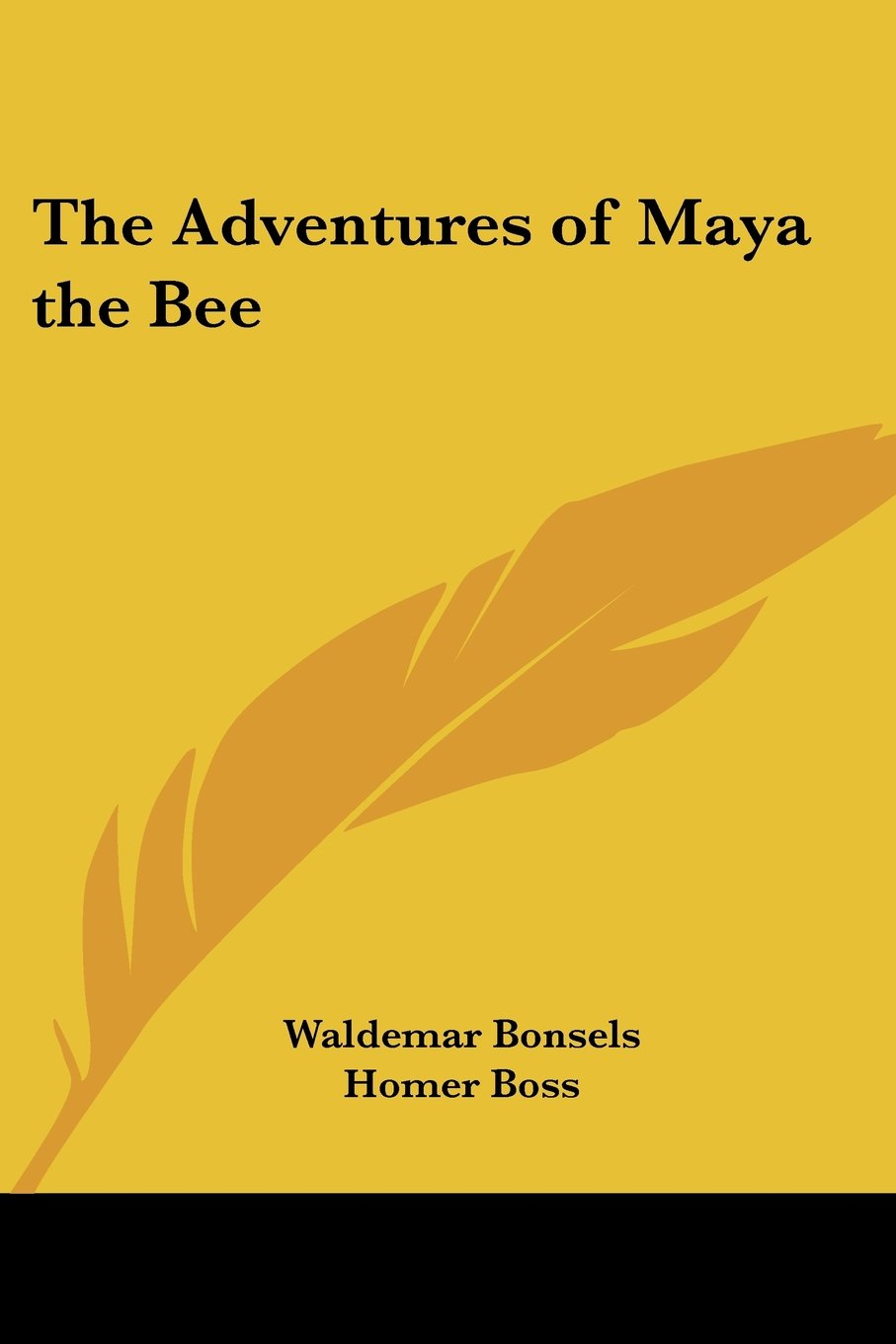 Download The Adventures of Maya the Bee PDF