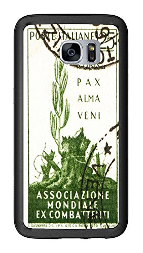 1959 Italy Postage Stamp Gentle Peace Has Come for Samsung Galaxy S7 G930 Case Cover by Atomic Market