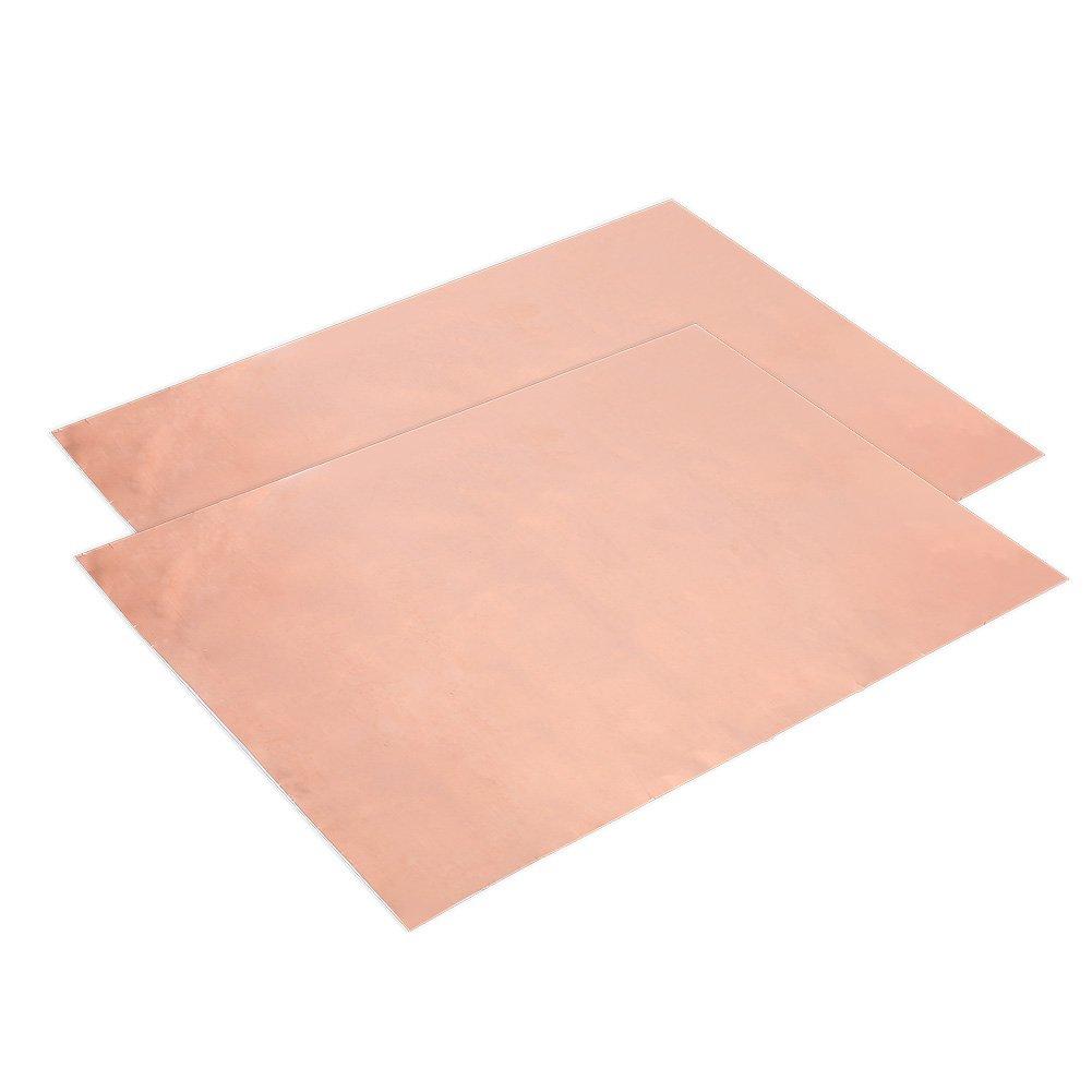 VGEBY 2Pcs Conductive Copper Tape, Multi Function Single Sided Conductive EMI Shielding Copper Foil Tape