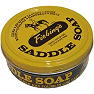 Fiebing's Saddle Soap, 3.5 Oz. - Yellow - Cleans, Softens and Preserves Leather