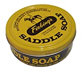 Fiebing's Yellow Saddle Soap, 12 Oz. - Cleans, Softens and Preserves Leather