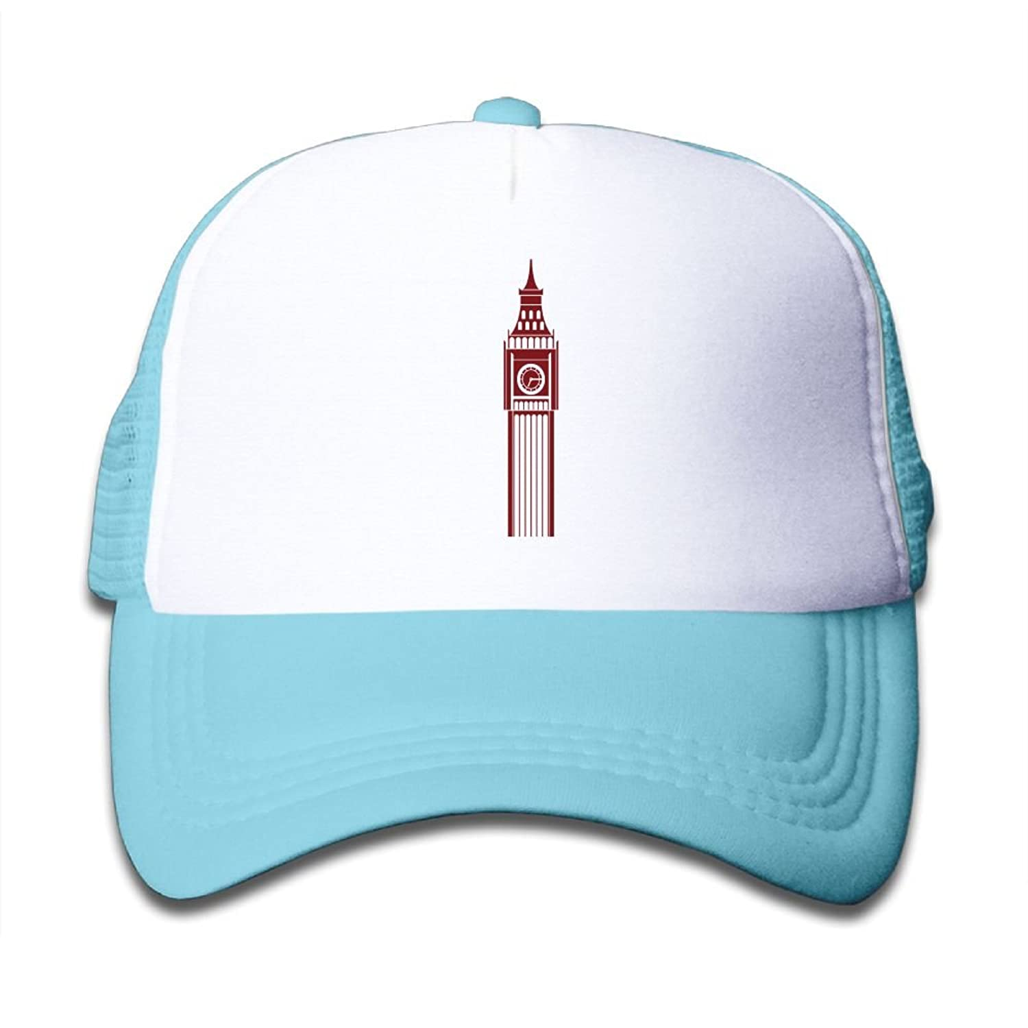 Big Ben London Boy Kids Adjustable Foamnation Caps Mesh Baseball Hats supplies