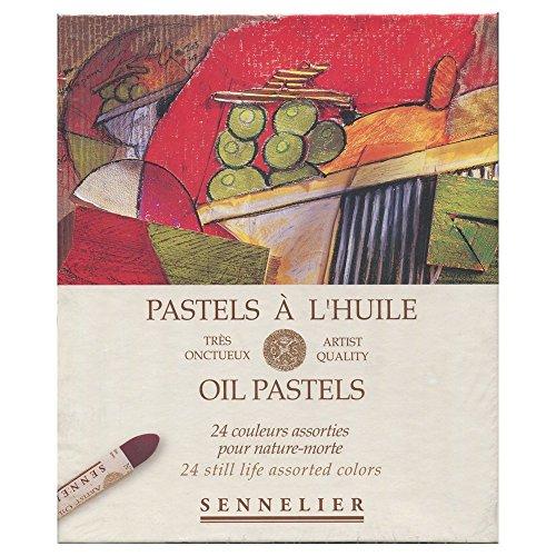 Glass Oil Pastels (Sennelier Oil Pastel Still Life Set Of 24)