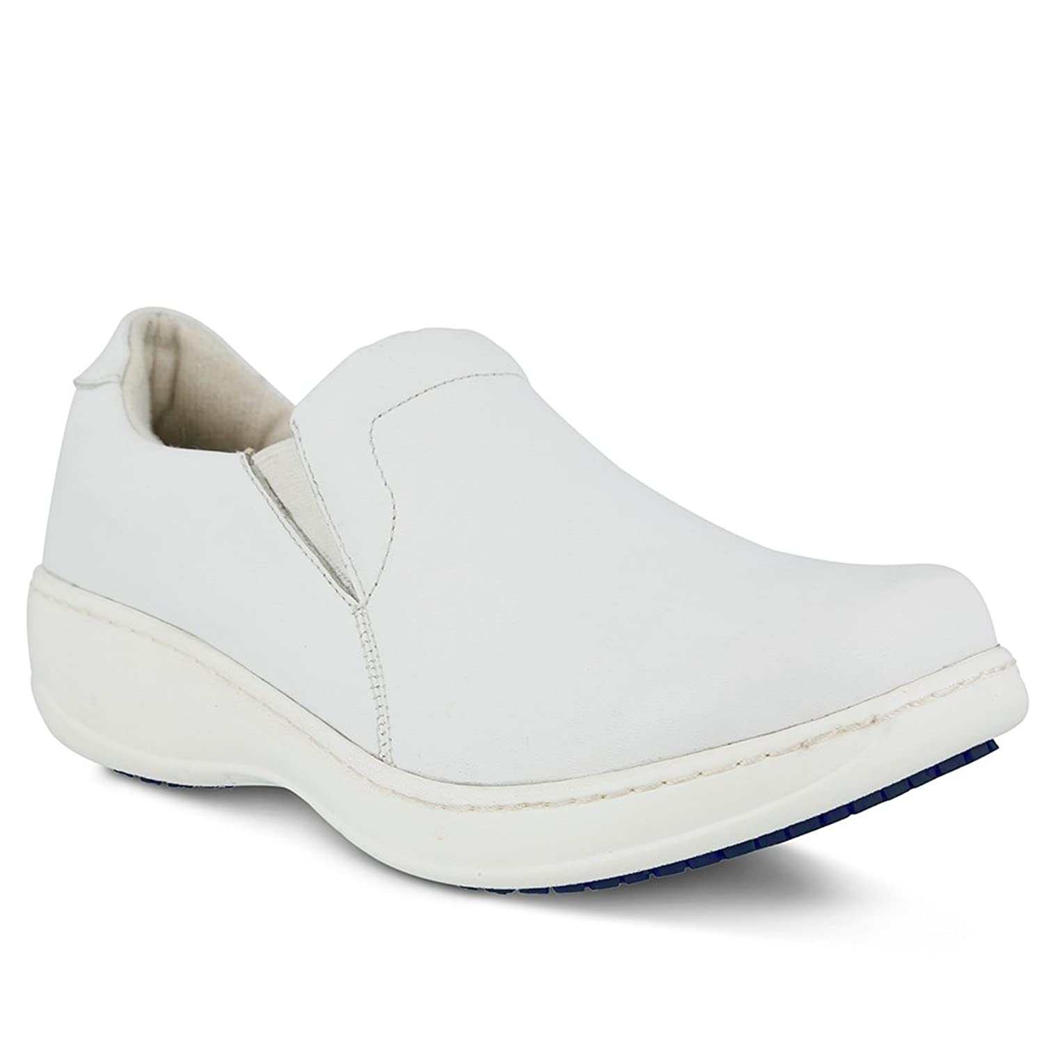 Spring Step Professional Womens Woolin Vibe Shoe, WHITE, Size - 6