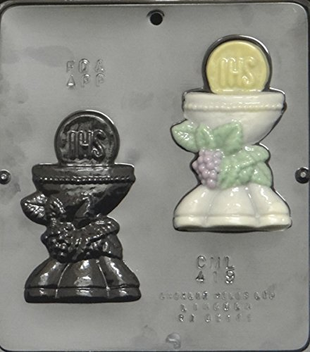 Chalice and Host Chocolate Candy Mold Religious - Religious Molds Candy