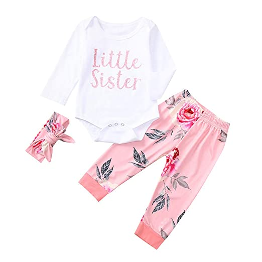 Baby & Toddler Clothing Tommy Hilfiger Girls 0-3 Months Pink Halter Outfit